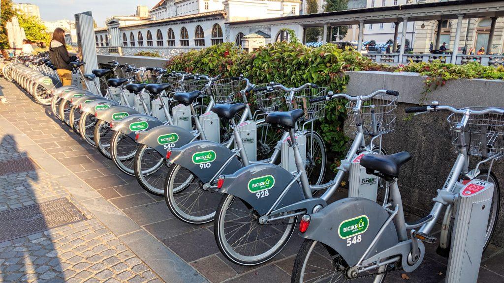 Rent a bike in Ljubljana