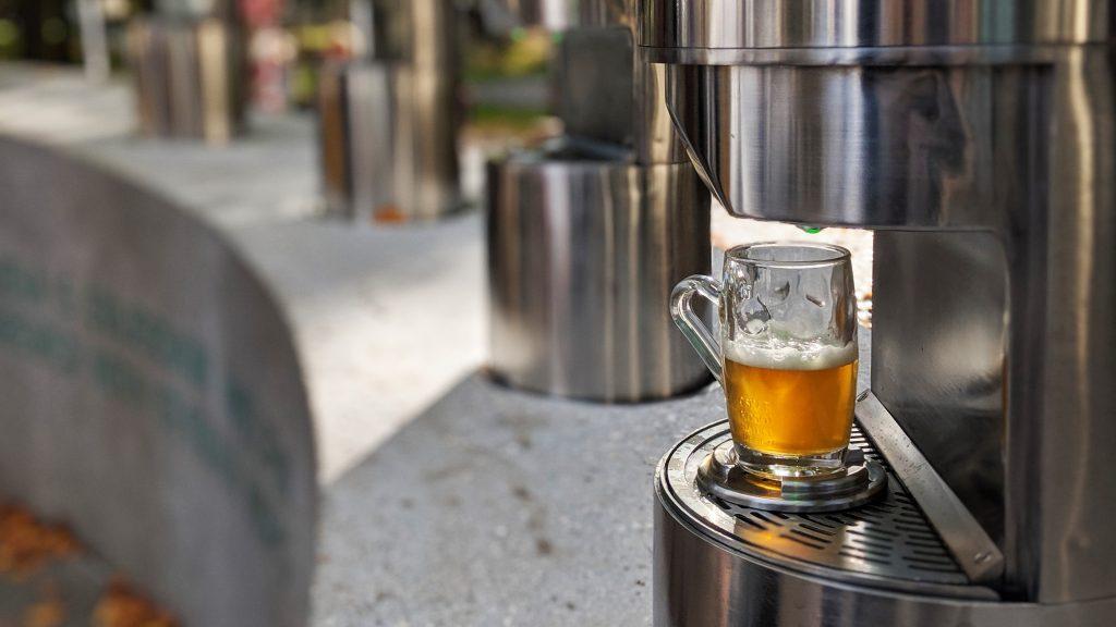 Beer Fountain Žalec, Slovenia
