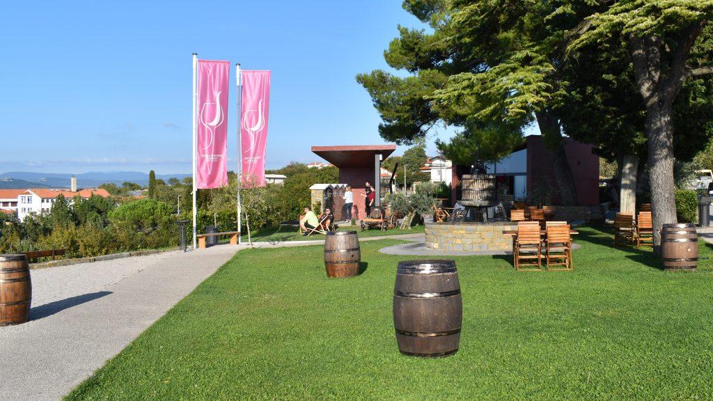 Wine Fountain Koper, Slovenia