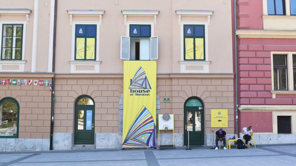 House of Illusions in Ljubljana