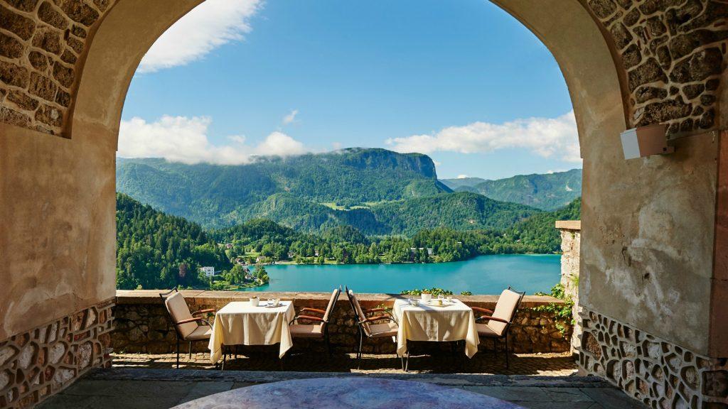 Bled Castle Restaurant Slovenia
